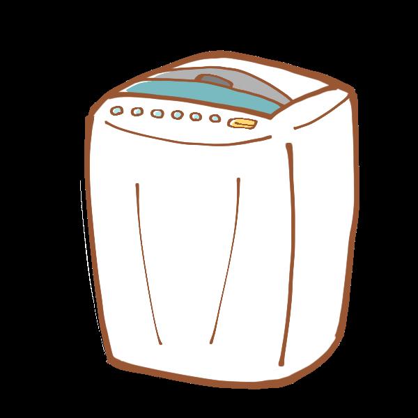 家具レンタル:洗濯機