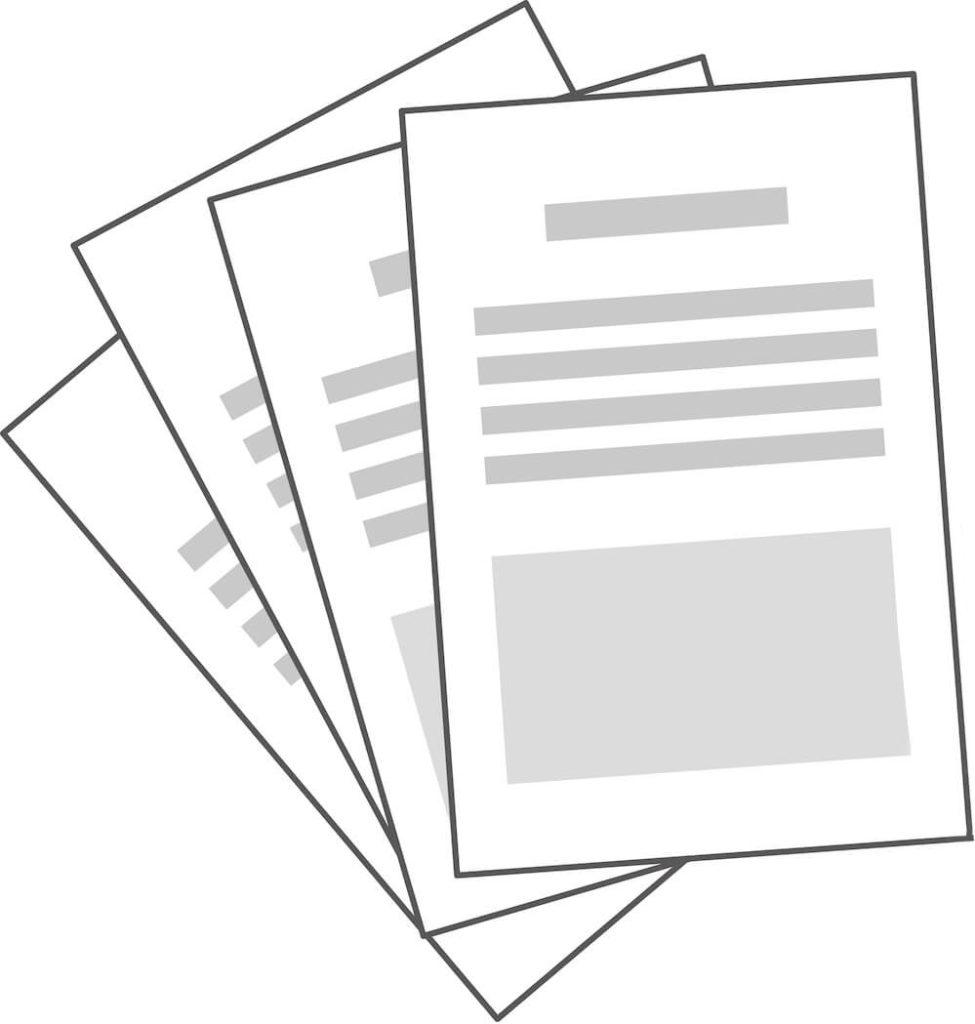 入居までの流れ:書類:イラスト
